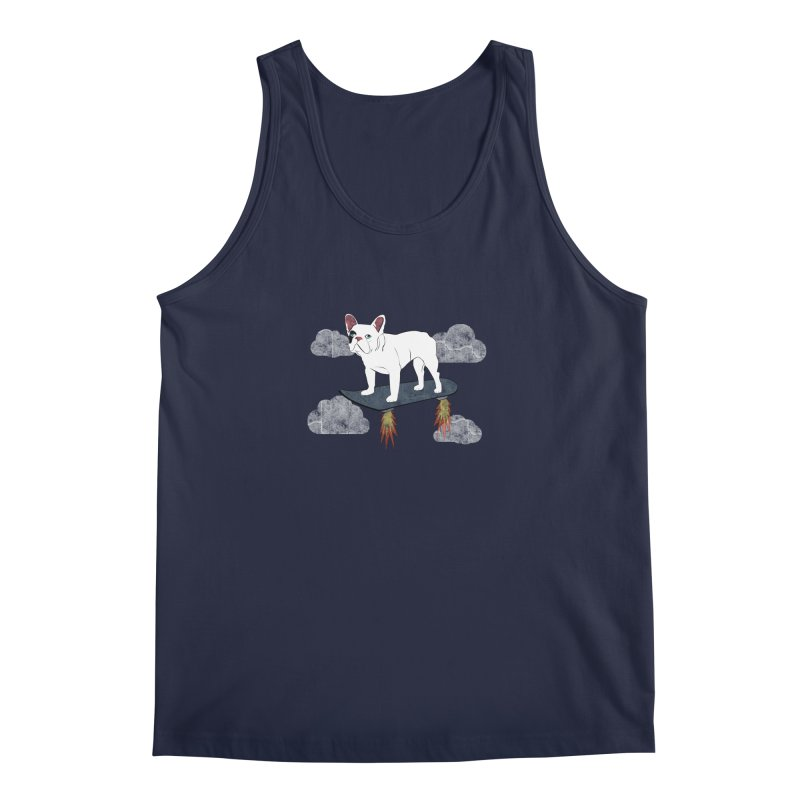 Hover Dog Men's Tank by Boshik's Tshirt Shop