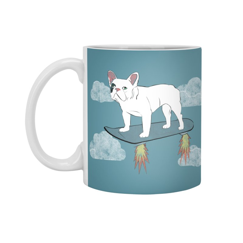 Hover Dog Accessories Mug by Boshik's Tshirt Shop