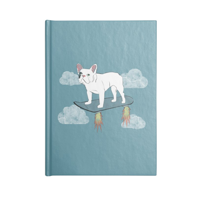 Hover Dog Accessories Notebook by Boshik's Tshirt Shop