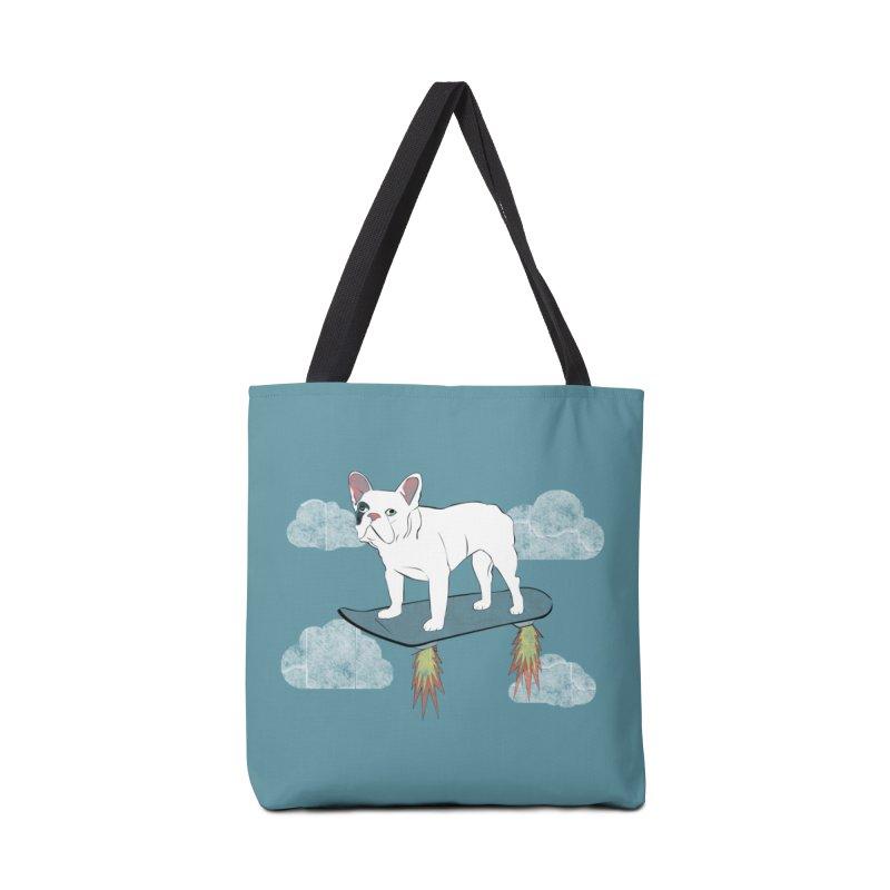 Hover Dog Accessories Tote Bag Bag by Boshik's Tshirt Shop