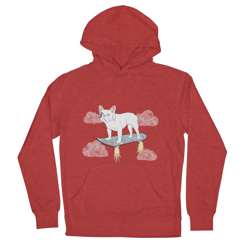 Hover Dog Men's Pullover Hoody by Boshik's Tshirt Shop