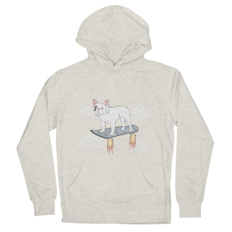 Hover Dog Men's Pullover Hoody by Boshik's Tshirt Shop