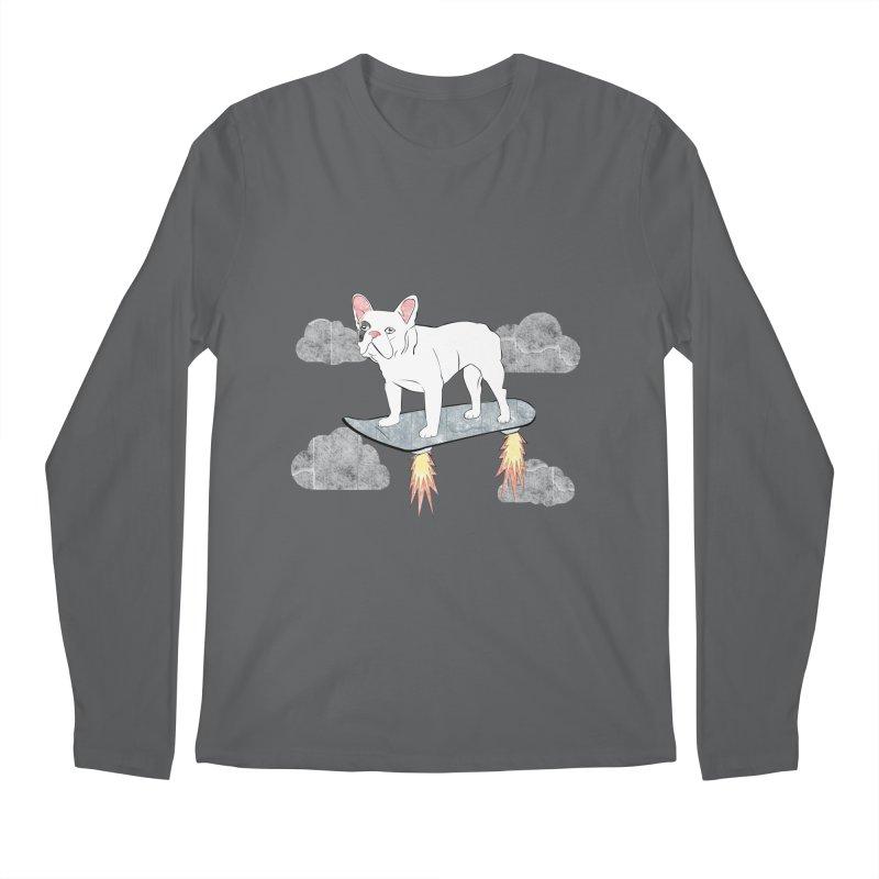 Hover Dog Men's Longsleeve T-Shirt by Boshik's Tshirt Shop