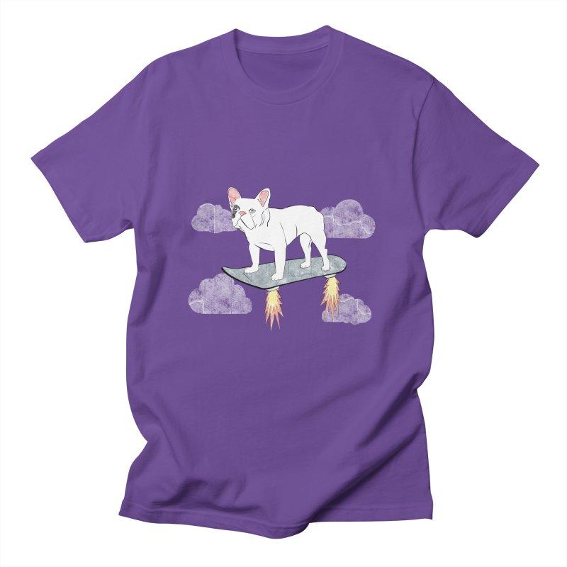 Hover Dog Men's T-Shirt by Boshik's Tshirt Shop