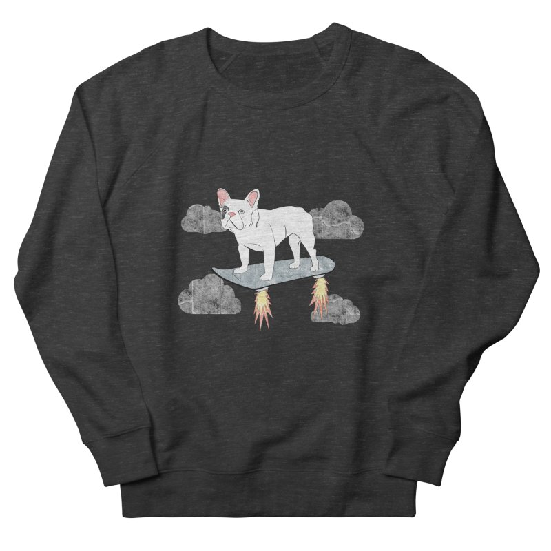 Hover Dog Men's Sweatshirt by Boshik's Tshirt Shop