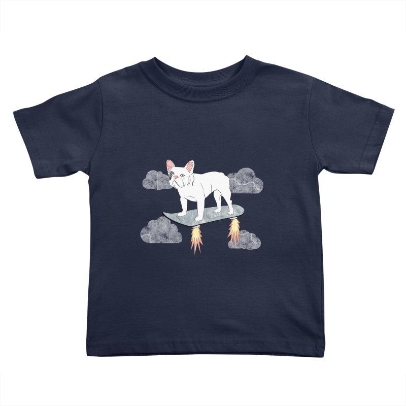 Hover Dog Kids Toddler T-Shirt by Boshik's Tshirt Shop