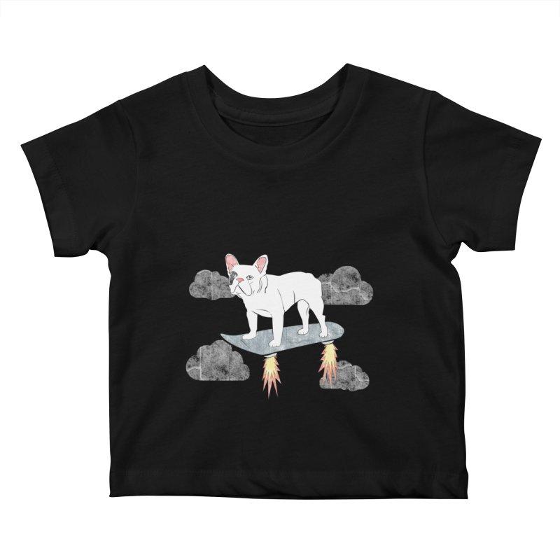 Hover Dog Kids Baby T-Shirt by Boshik's Tshirt Shop