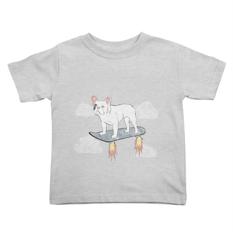 Hover Dog Kids Toddler T-Shirt by Boshik's Tshirt Shop