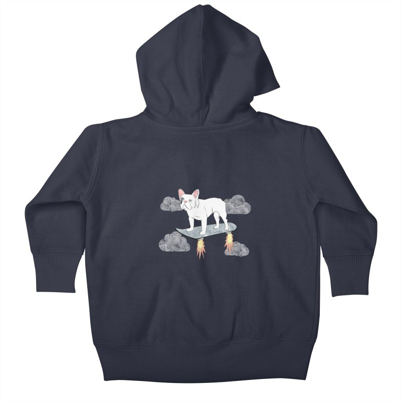 Hover Dog Kids Baby Zip-Up Hoody by Boshik's Tshirt Shop