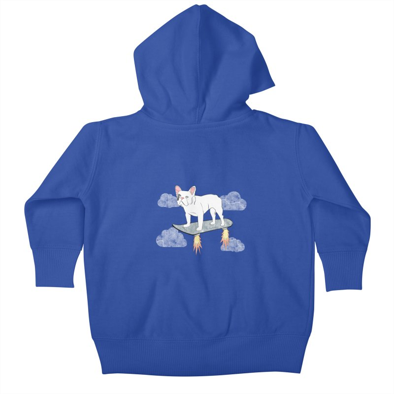 Hover Dog Kids Baby Zip-Up Hoody by Boshik's Tshirt Shop
