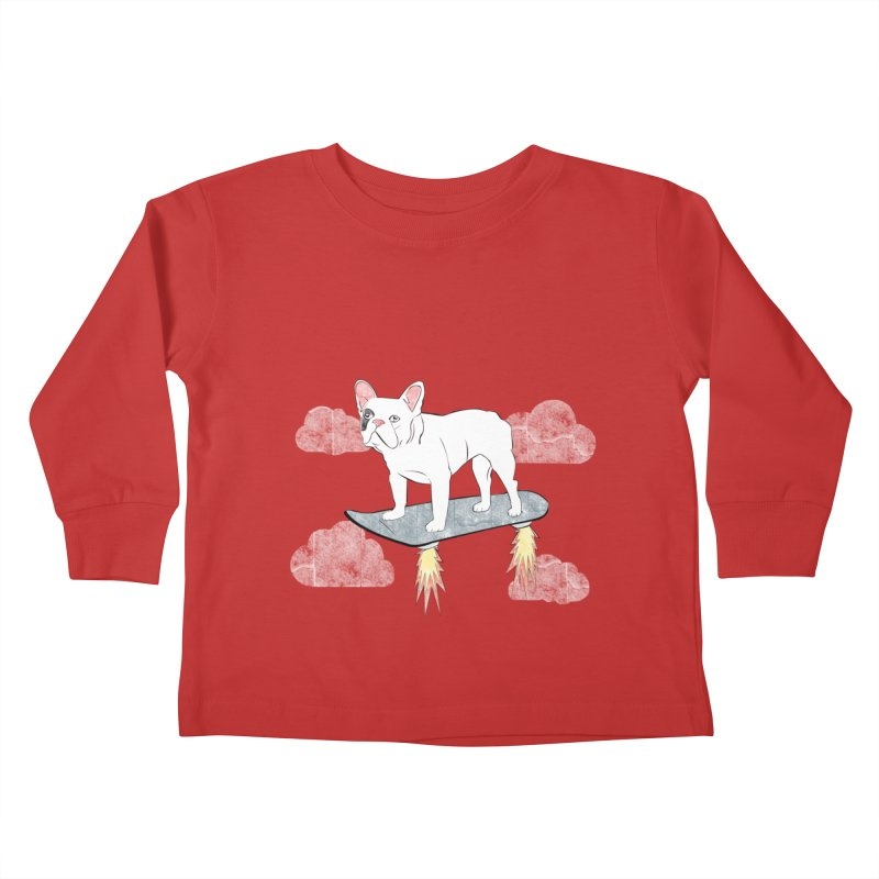 Hover Dog Kids Toddler Longsleeve T-Shirt by Boshik's Tshirt Shop