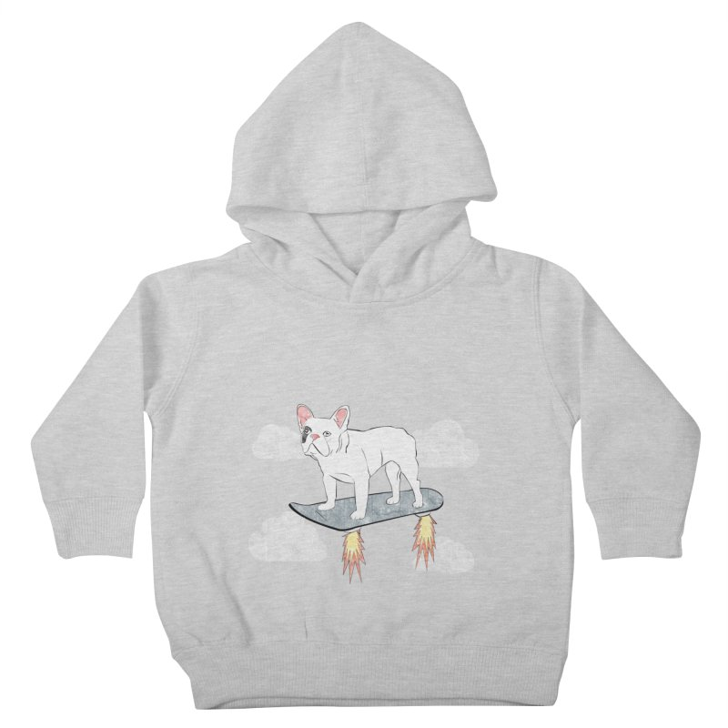 Hover Dog Kids Toddler Pullover Hoody by Boshik's Tshirt Shop