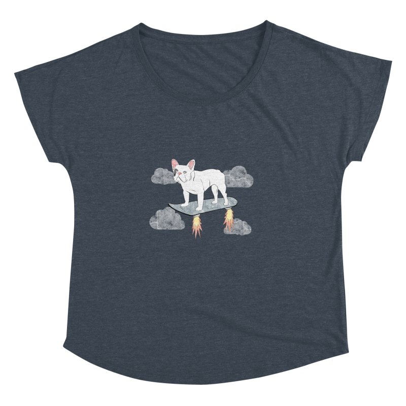 Hover Dog Women's Dolman by Boshik's Tshirt Shop