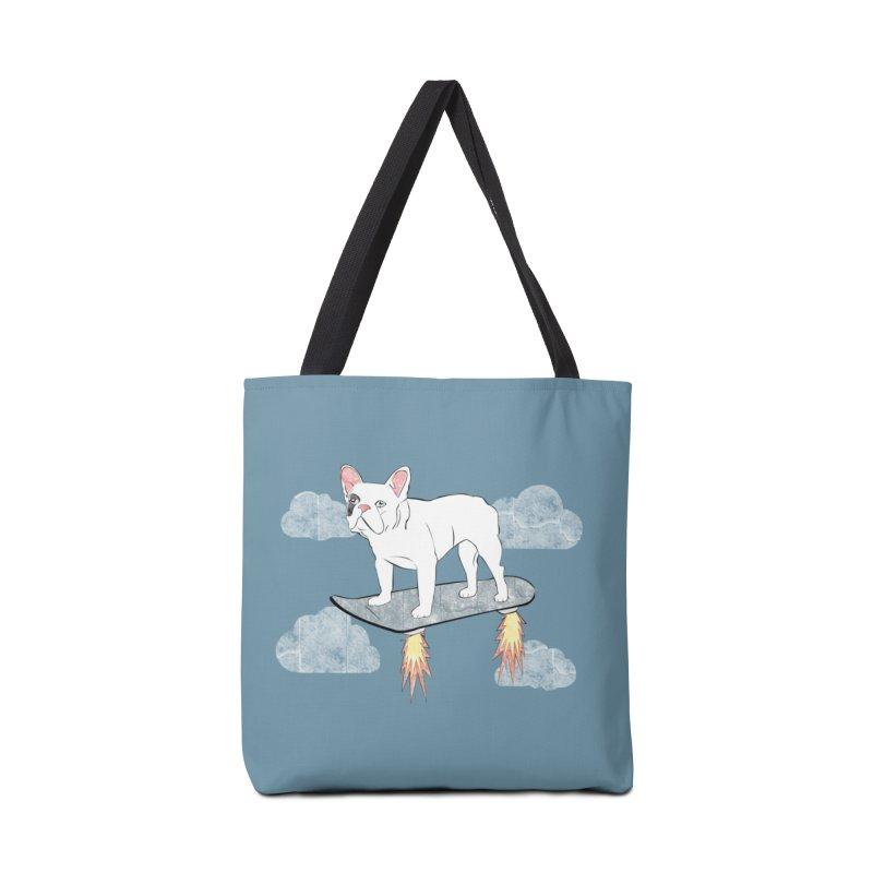 Hover Dog Accessories Bag by Boshik's Tshirt Shop