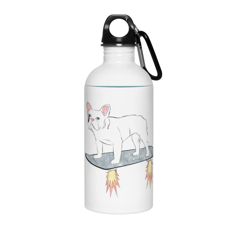 Hover Dog Accessories Water Bottle by Boshik's Tshirt Shop