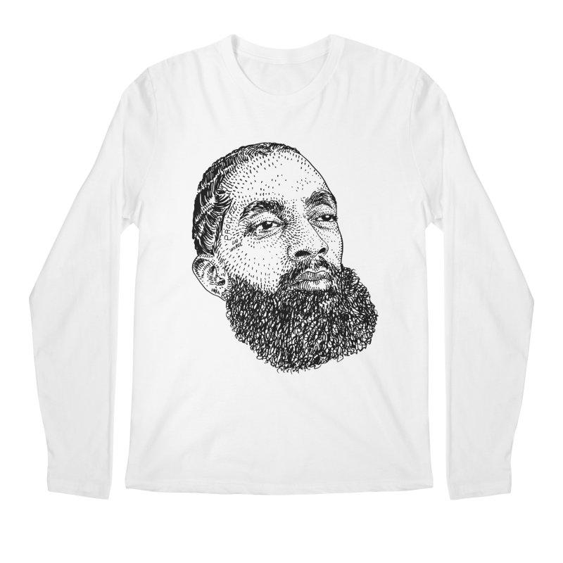 HUSTLE Men's Regular Longsleeve T-Shirt by Boss Trés Bien