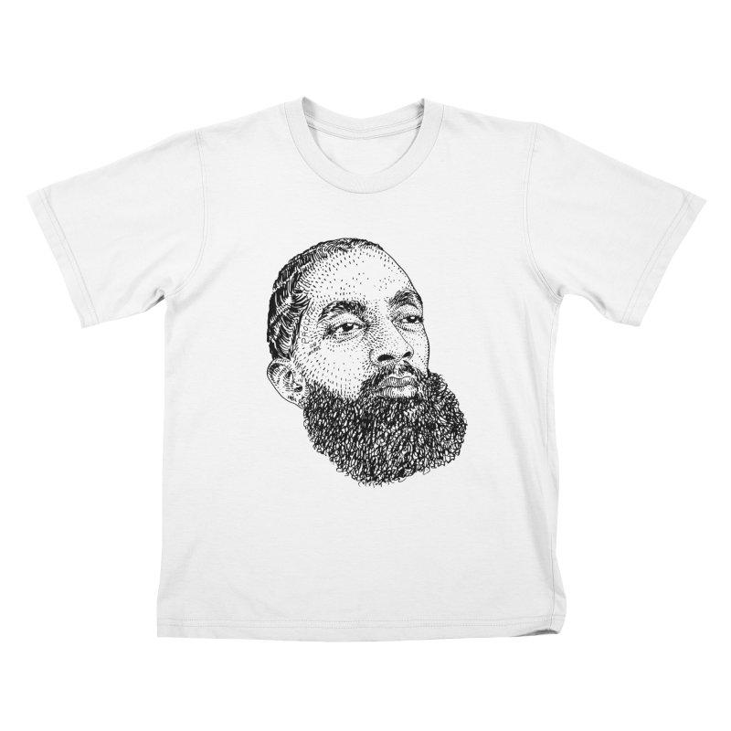 HUSTLE Kids T-Shirt by Boss Trés Bien