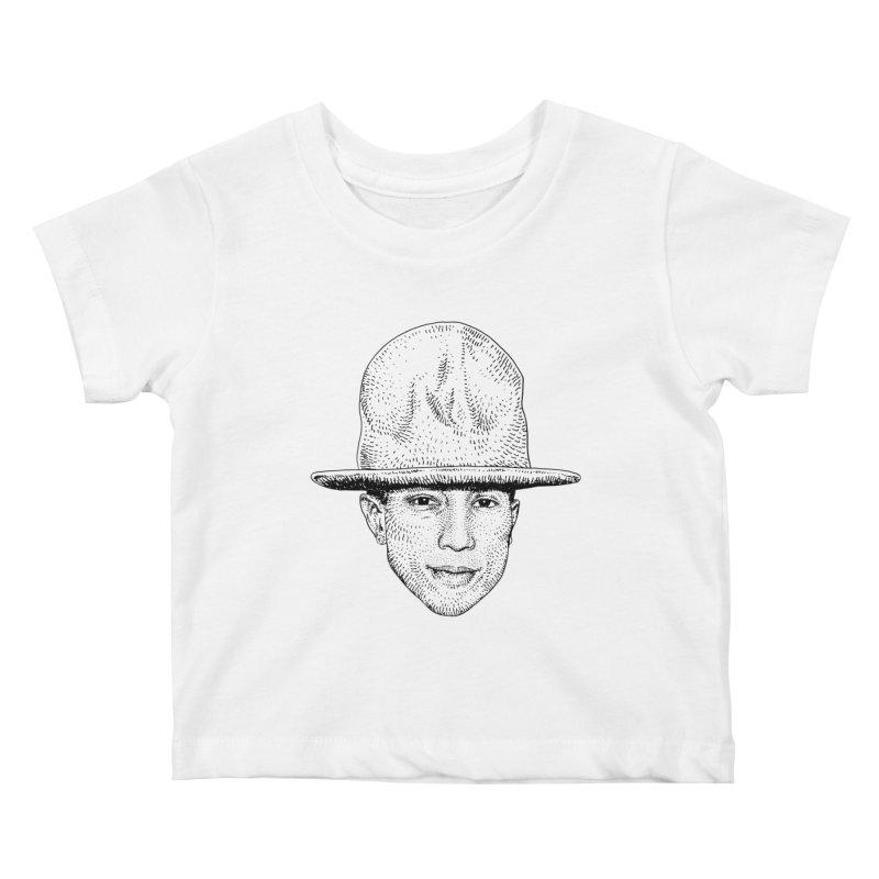 SKATEBOARD P Kids Baby T-Shirt by Boss Trés Bien