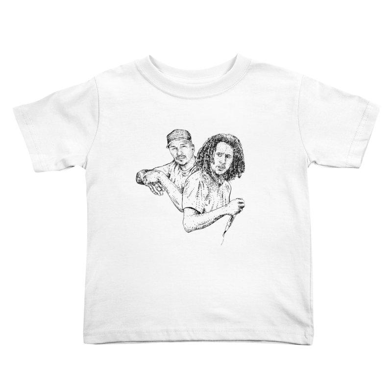 RAGE Kids Toddler T-Shirt by Boss Trés Bien