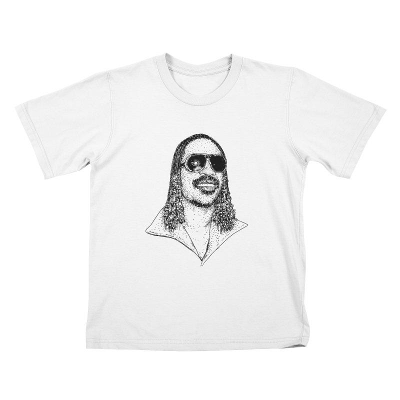 STEVLAND WONDER Kids T-Shirt by Boss Trés Bien