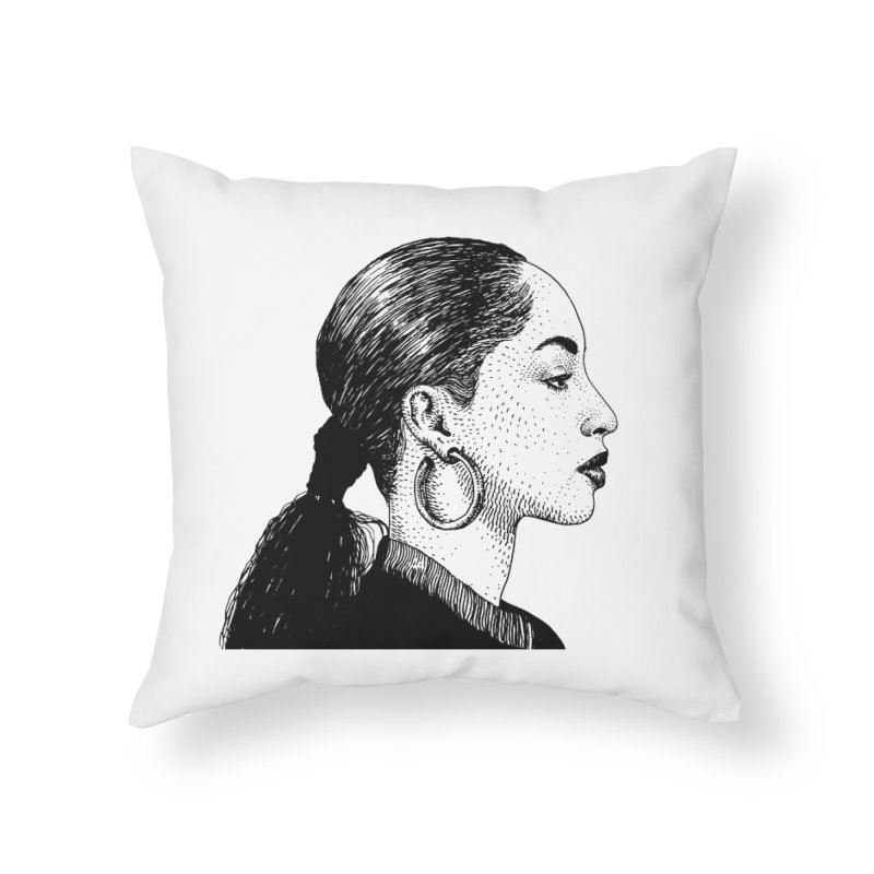 SADE Home Throw Pillow by Boss Trés Bien