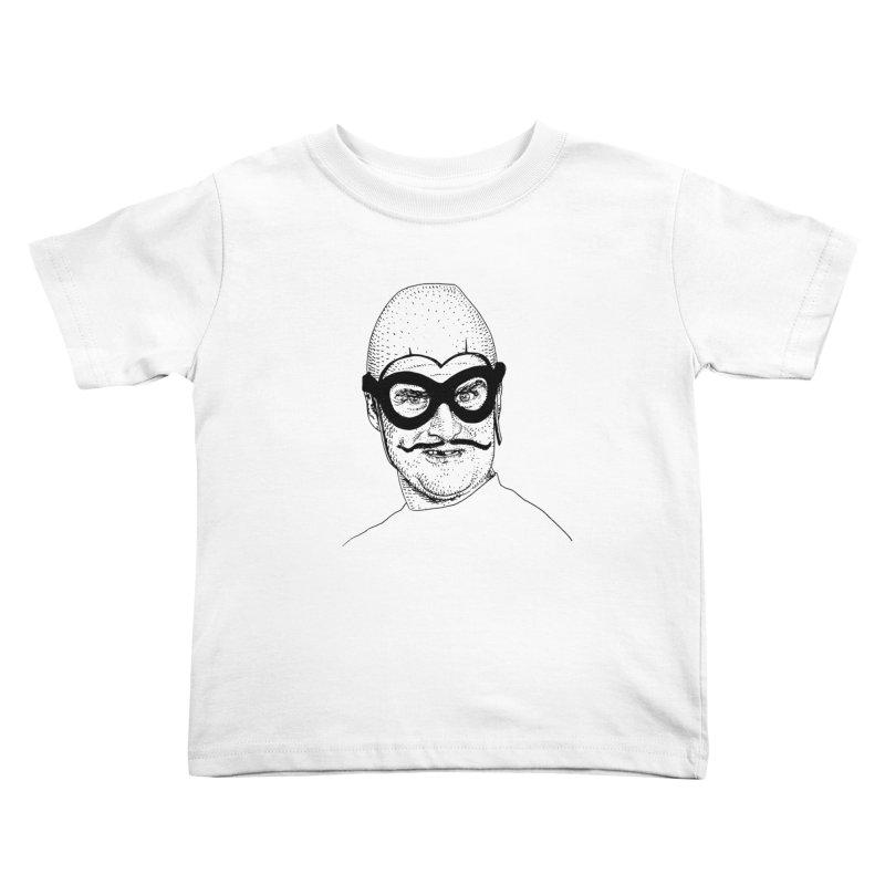 BAT COMMANDER Kids Toddler T-Shirt by Boss Trés Bien