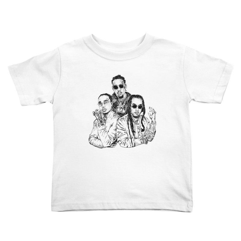 MIGOS Kids Toddler T-Shirt by Boss Trés Bien