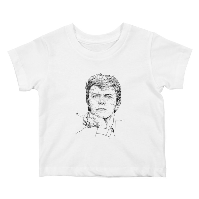 BOWIE Kids Baby T-Shirt by Boss Trés Bien
