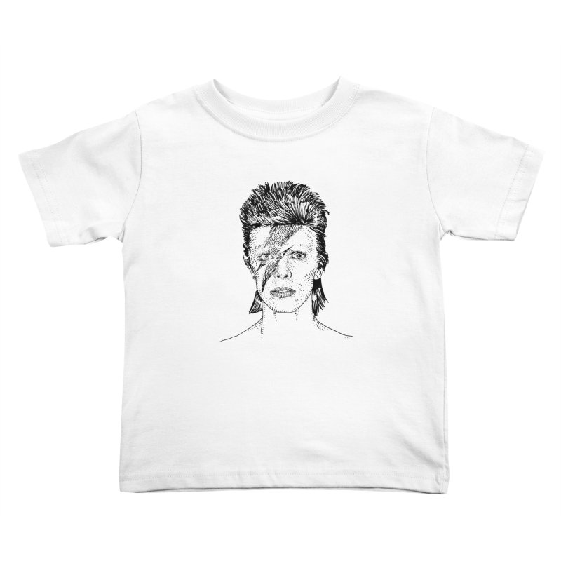 BOWIE Kids Toddler T-Shirt by Boss Trés Bien