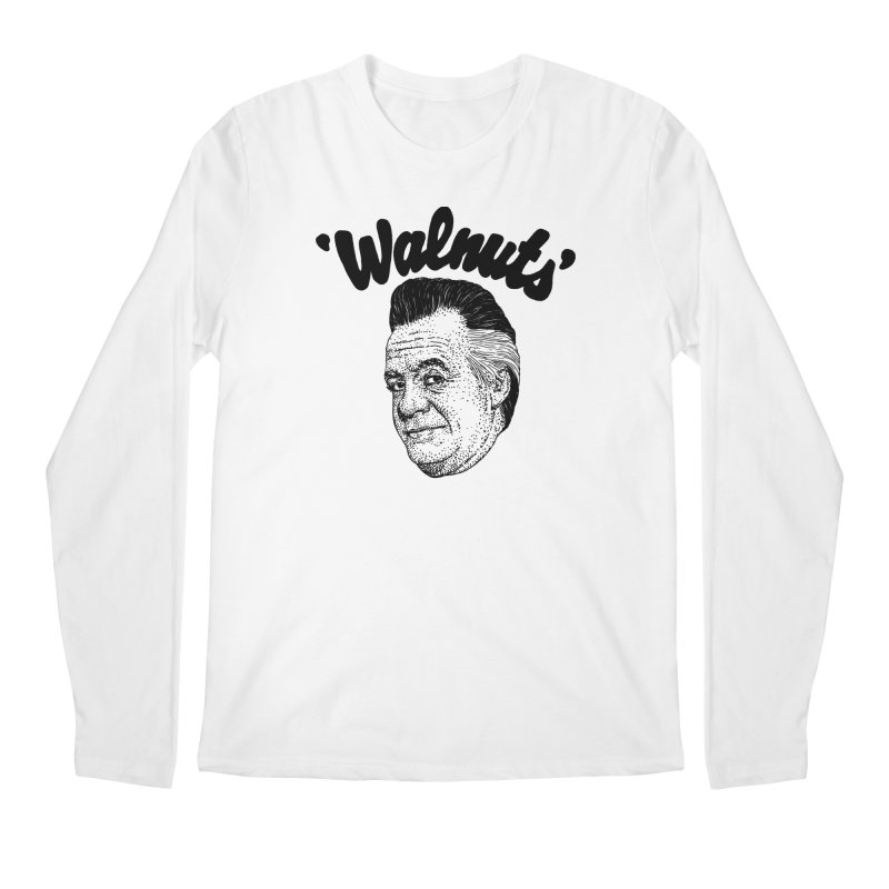 WALNUTS Men's Regular Longsleeve T-Shirt by Boss Trés Bien