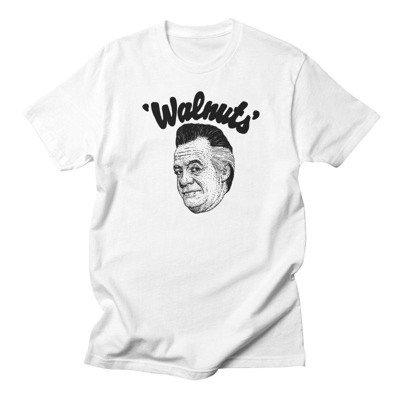 WALNUTS in Women's Unisex T-Shirt White by Boss Trés Bien