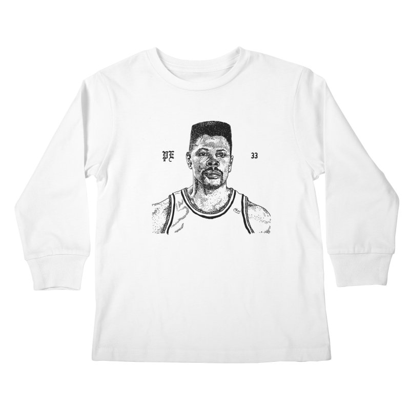 PATRICK in Kids Longsleeve T-Shirt White by Boss Trés Bien