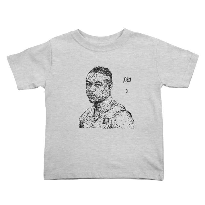 DWYANE Kids Toddler T-Shirt by Boss Trés Bien