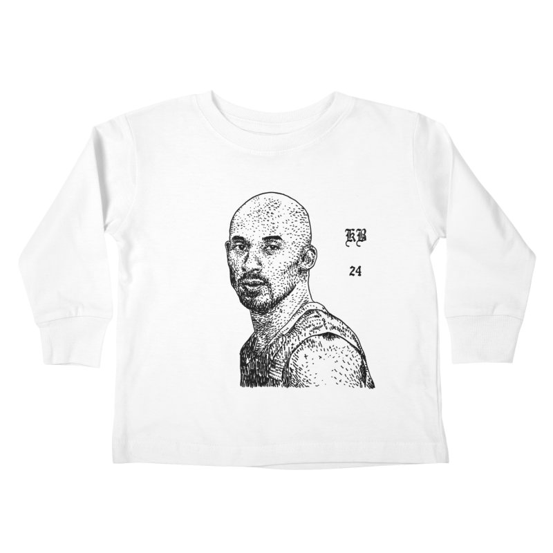 KOBE 24 Kids Toddler Longsleeve T-Shirt by Boss Trés Bien