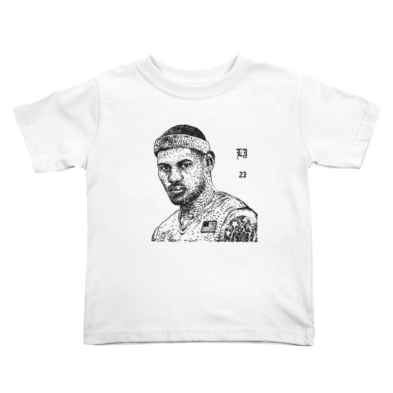 LEBRON Kids Toddler T-Shirt by Boss Trés Bien
