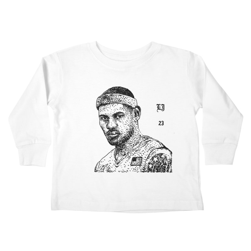 LEBRON Kids Toddler Longsleeve T-Shirt by Boss Trés Bien