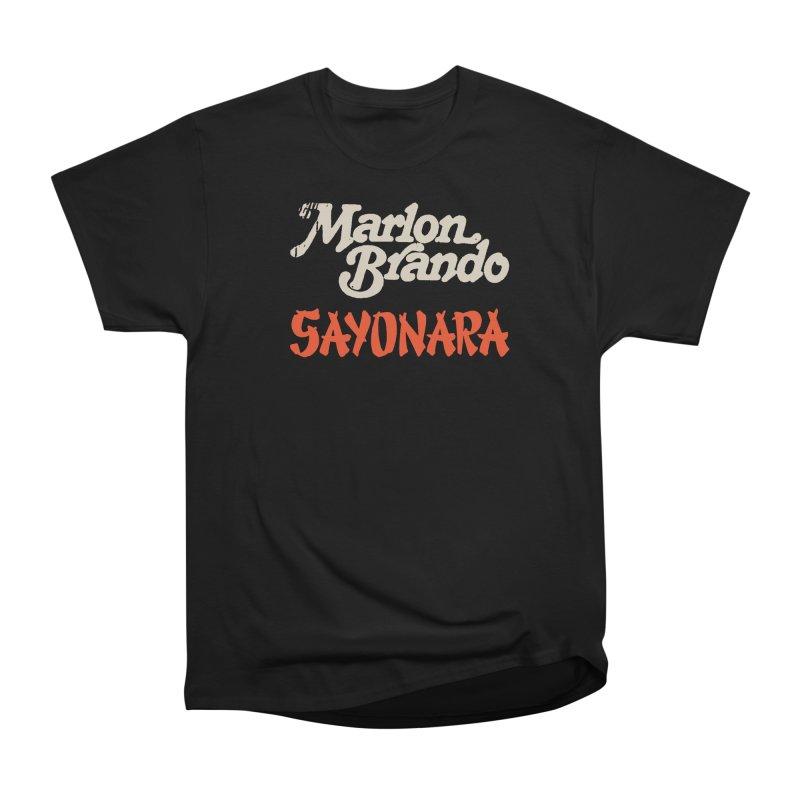 BRANDO Women's Heavyweight Unisex T-Shirt by Boss Trés Bien