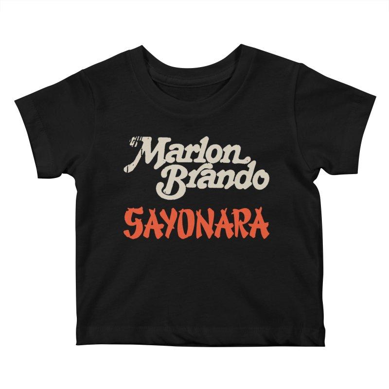 BRANDO Kids Baby T-Shirt by Boss Trés Bien