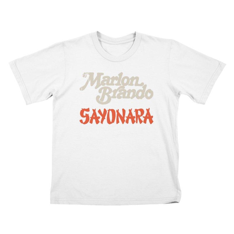 BRANDO Kids T-Shirt by Boss Trés Bien