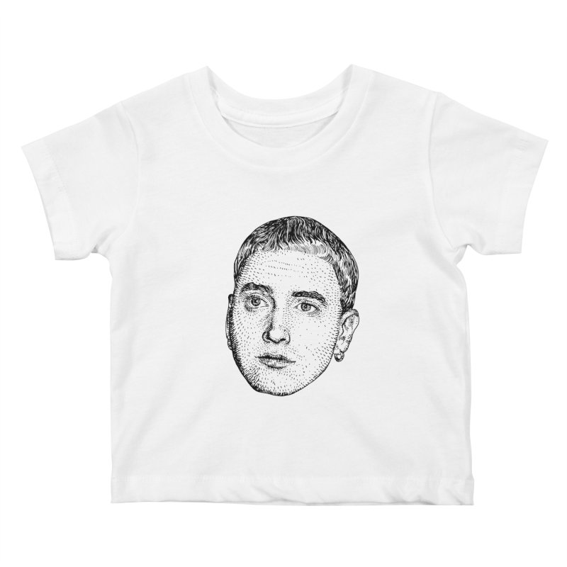 SLIM SHADY Kids Baby T-Shirt by Boss Trés Bien