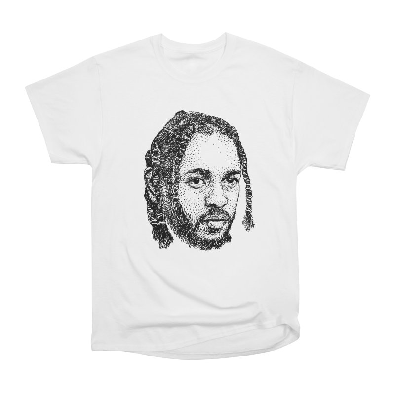 KUNG FU KENNY Men's Heavyweight T-Shirt by Boss Trés Bien