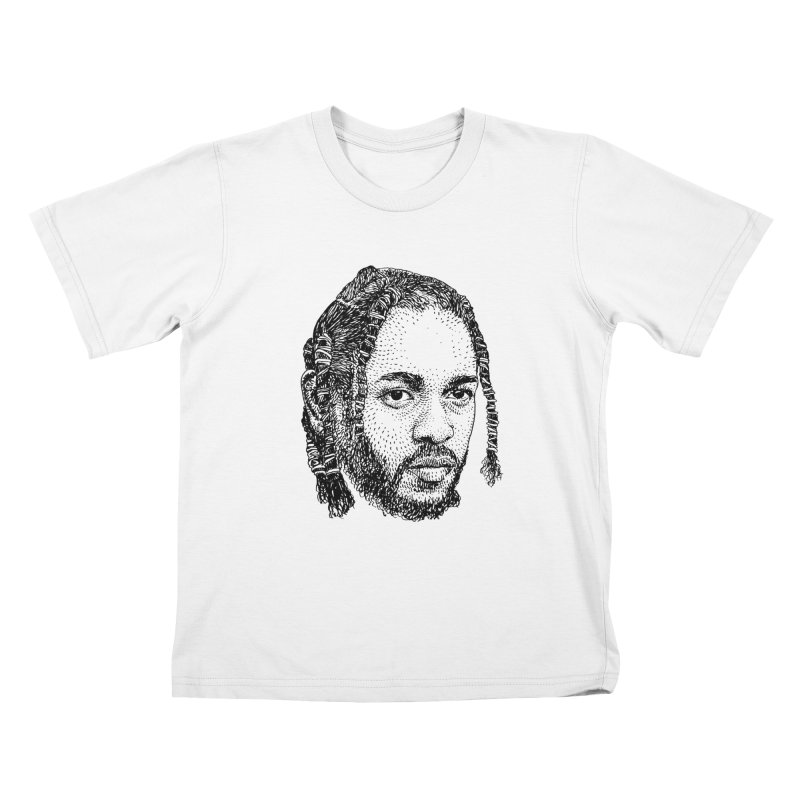 KUNG FU KENNY Kids T-Shirt by Boss Trés Bien