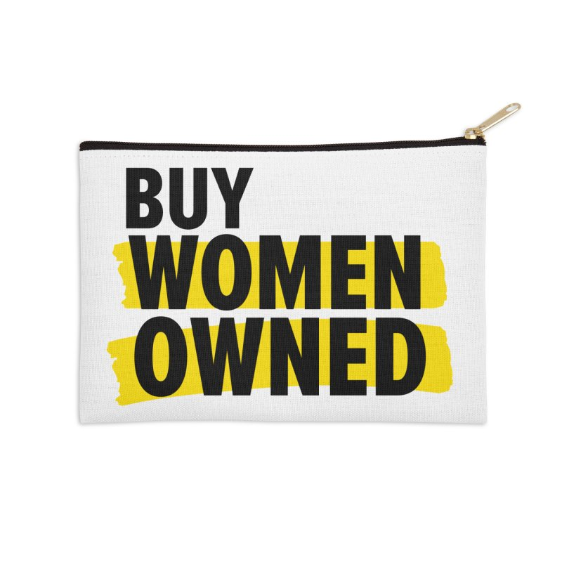 Buy Women-Owned Accessories Zip Pouch by Bossy Chicago