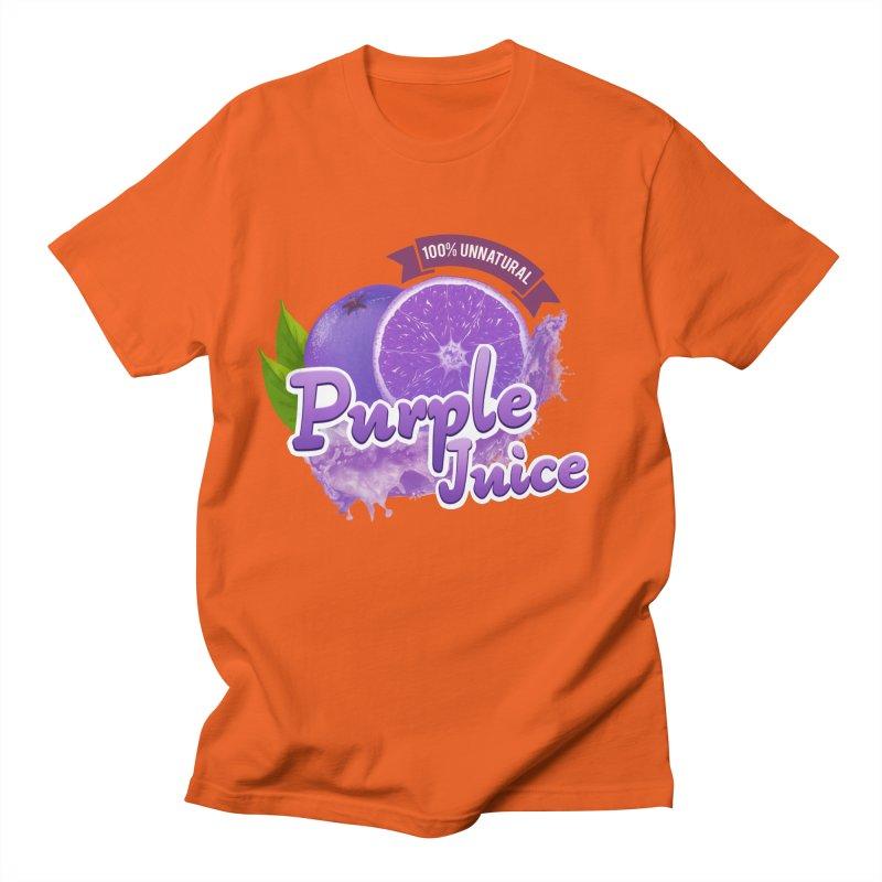 Purple Juice Men's T-Shirt by Bots & Bits Realm of Merch