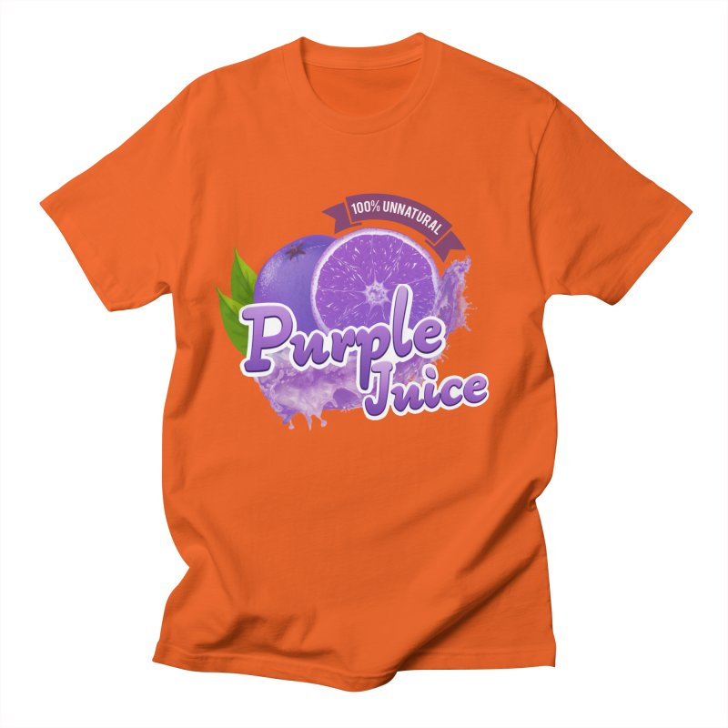 Purple Juice Men's T-Shirt by Bots & Bits Realm of Merch