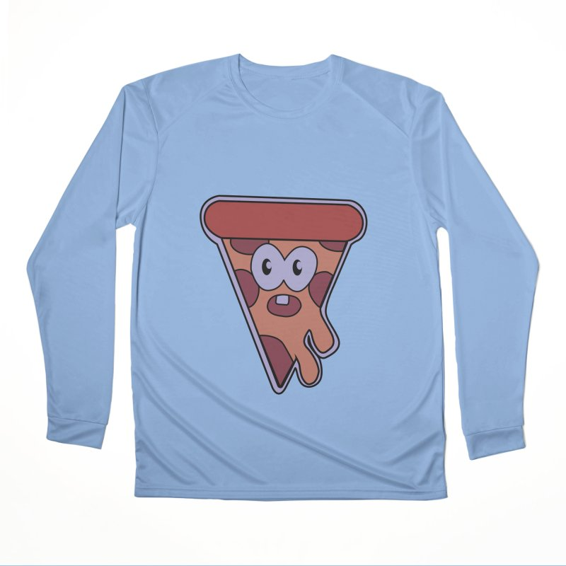 Crazy for Pizza Women's Longsleeve T-Shirt by Bots & Bits Realm of Merch