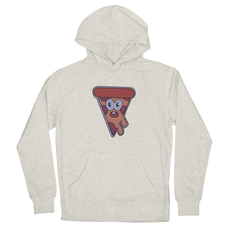 Crazy for Pizza Women's Pullover Hoody by Bots & Bits Realm of Merch