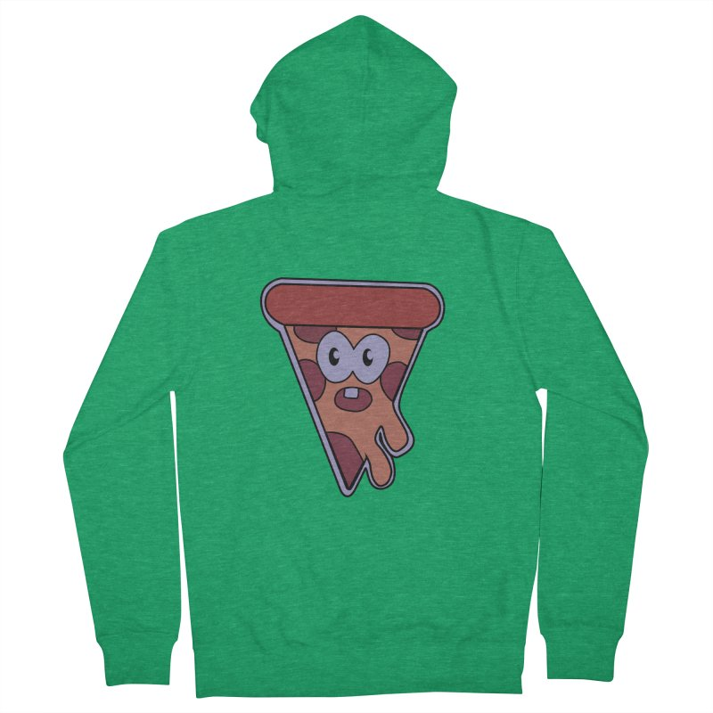 Crazy for Pizza Women's Zip-Up Hoody by Bots & Bits Realm of Merch