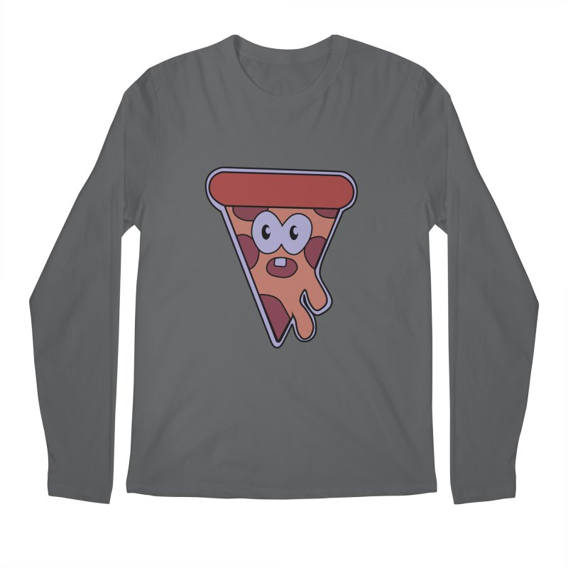 Crazy for Pizza Men's Longsleeve T-Shirt by Bots & Bits Realm of Merch