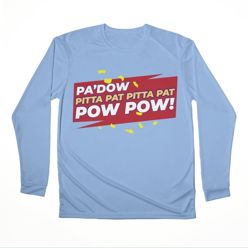 Opti Pow Women's Longsleeve T-Shirt by Bots & Bits Realm of Merch
